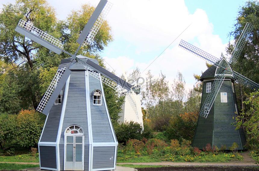heilongjiang botanical botanical windmill