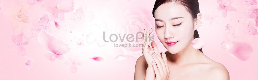 cartel de belleza femenina