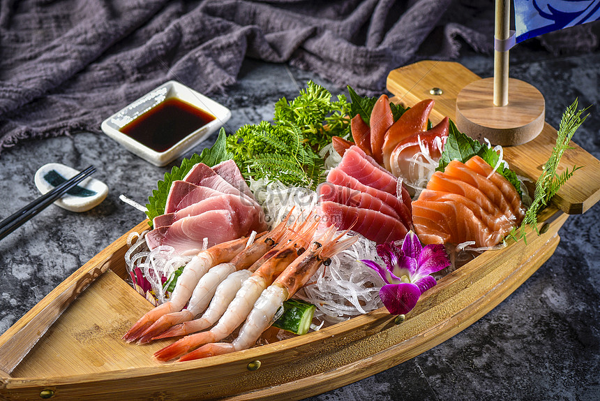 jinxiu sashimi assorted cold dishes