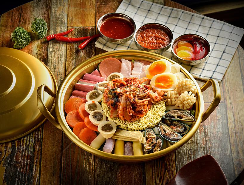 Pot Makanan Laut Masakan Korea Gambar Unduh Gratis Foto