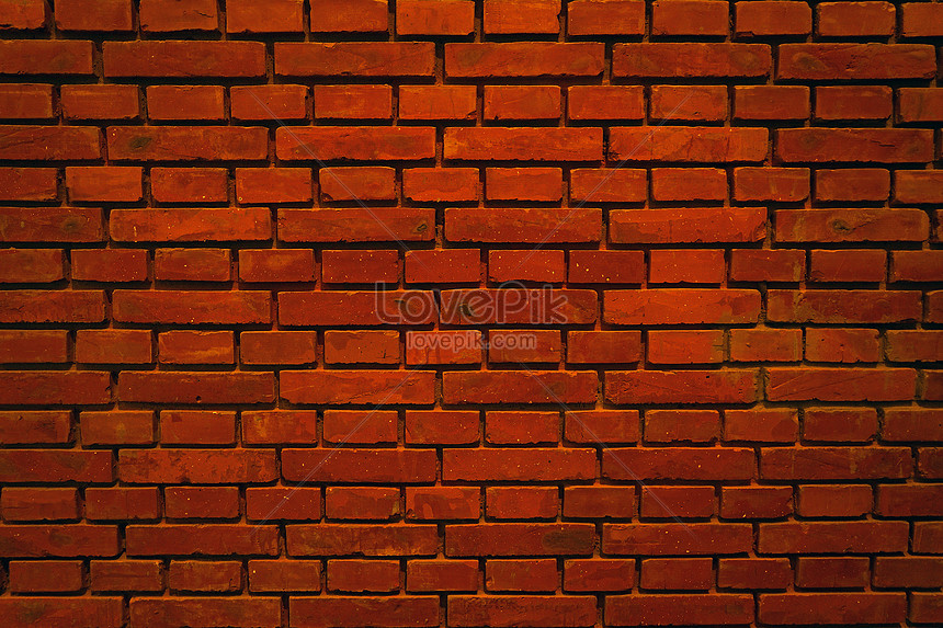 red brick wall r background material