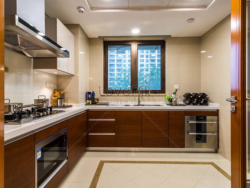 amplia cocina con diseño moderno Imagen Descargar_PRF Foto ...