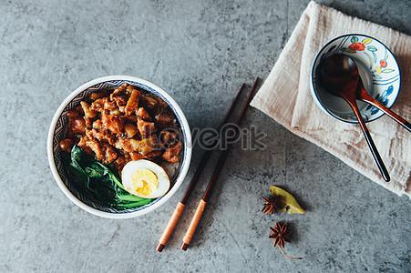 rice with stewed pork taiwan style jpg