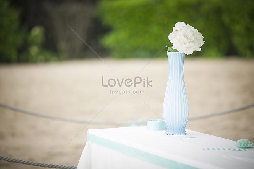 wedding arrangement wedding scene
