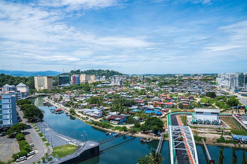 馬來西亞亞庇街景