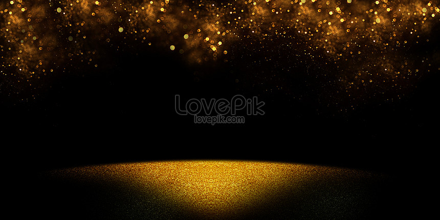 black and gold background