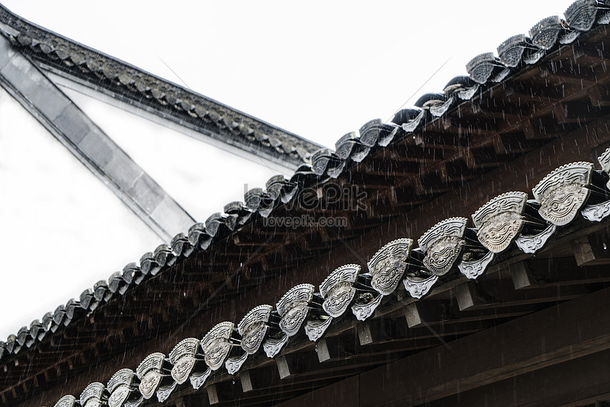 eaves structure of huizhou architecture
