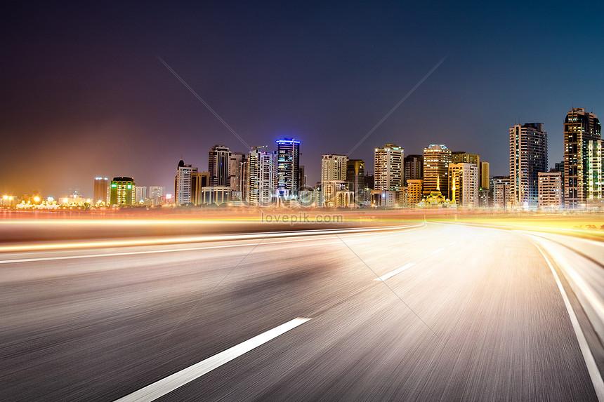 urban automobile highway background