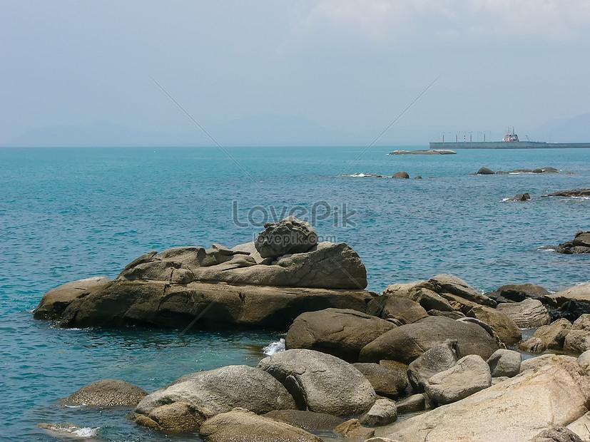 Hainan Sanya Pemandangan Laut Yang Indah Gambar Unduh Gratis Imej 500811428 Format Jpg My Lovepik Com