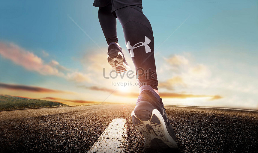 runners on the road