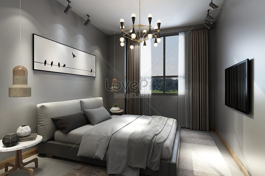 Photo de style de chambre moderne_Numéro de l ...