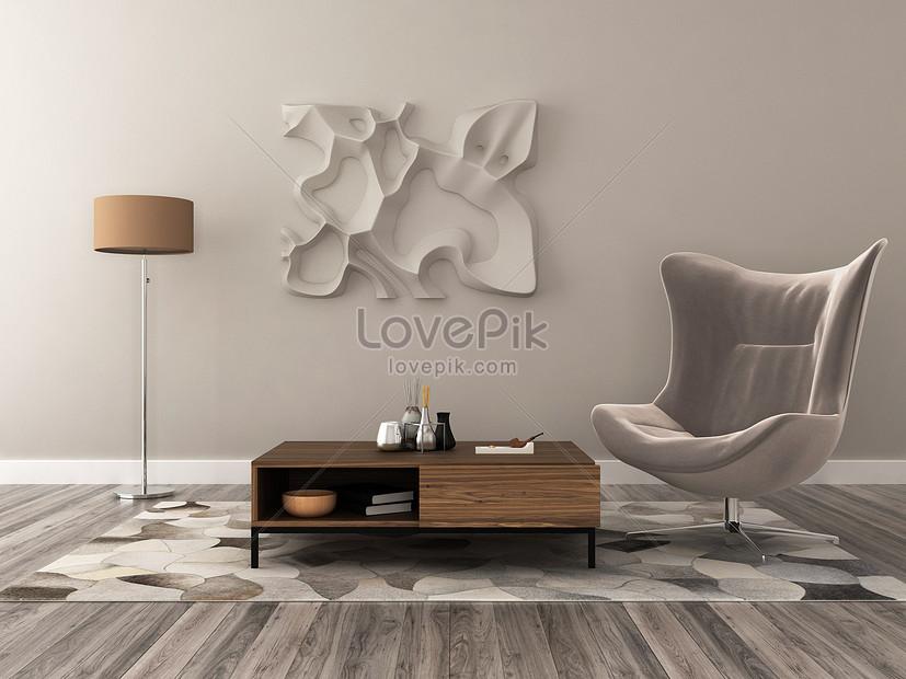 european simplified indoor home