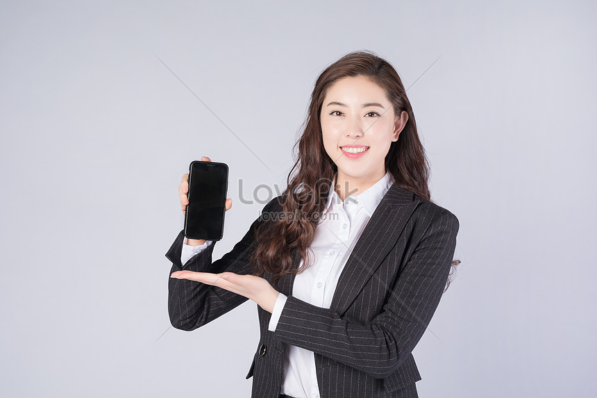 business women use mobile phones
