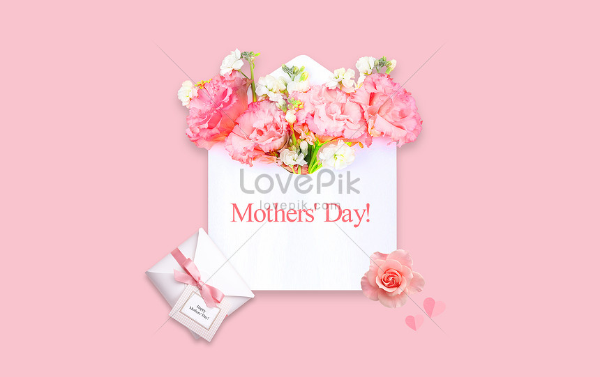 creative background of mothers day