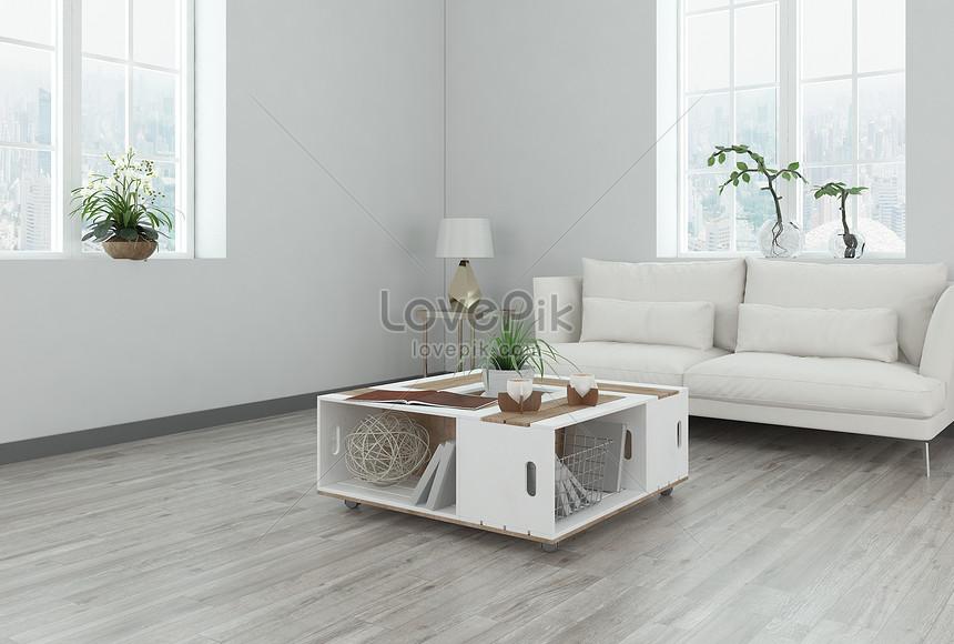 Kombinasi Meja Ruang Tamu Modern Minimalis Gambar Unduh
