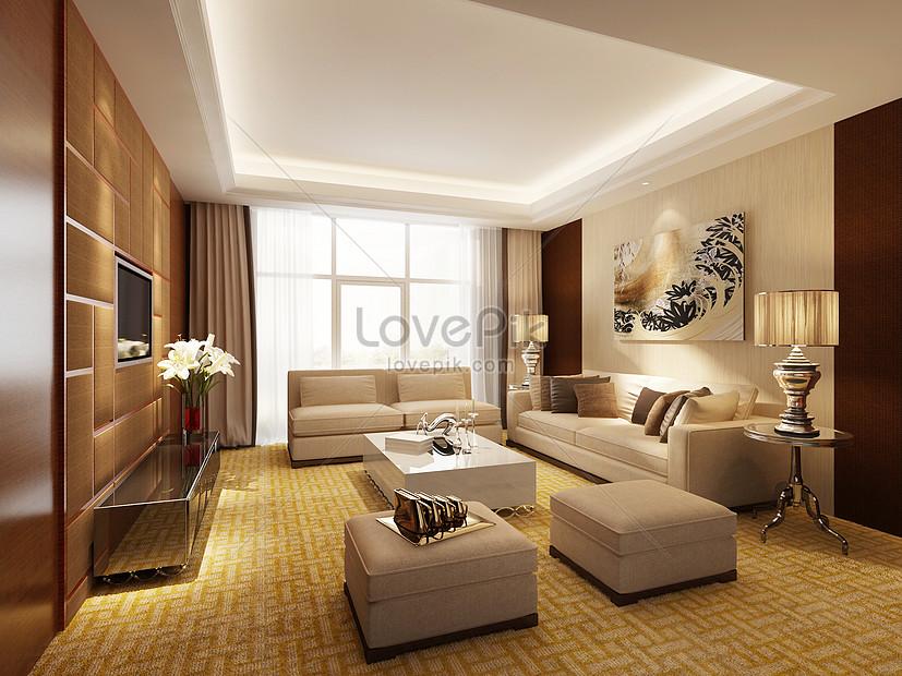Rancangan Ruang Tamu Moden Gambar Unduh Gratis Imej 500888246 Format Jpg My Lovepik Com