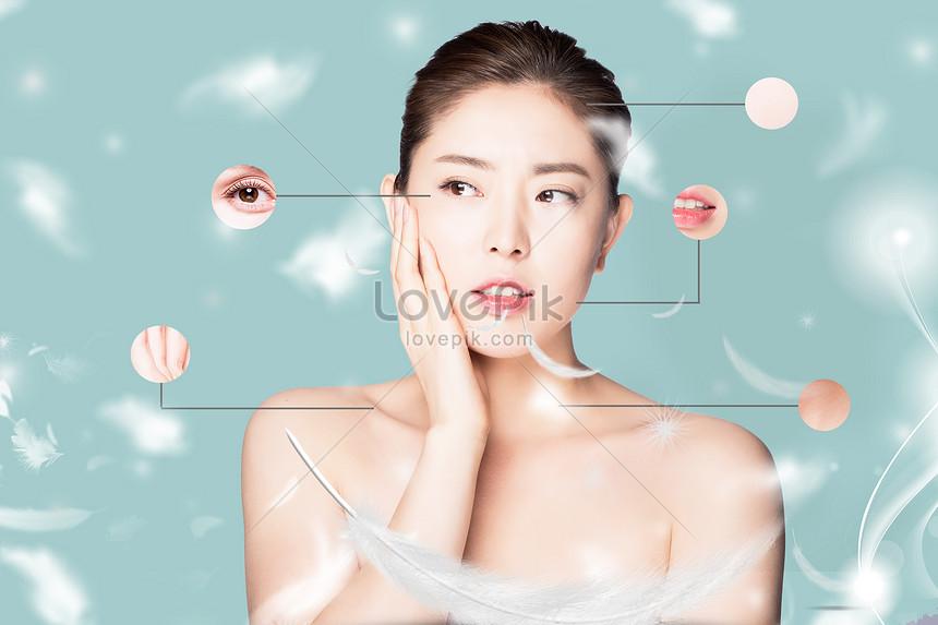 belleza femenina cuidado de la piel