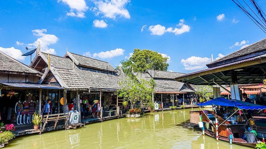 泰國曼谷水上市場