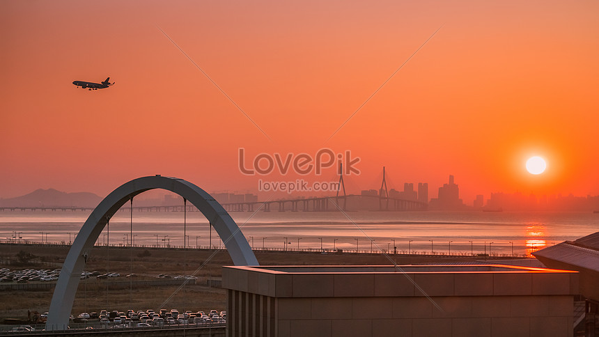 sunrise in inchon south korea