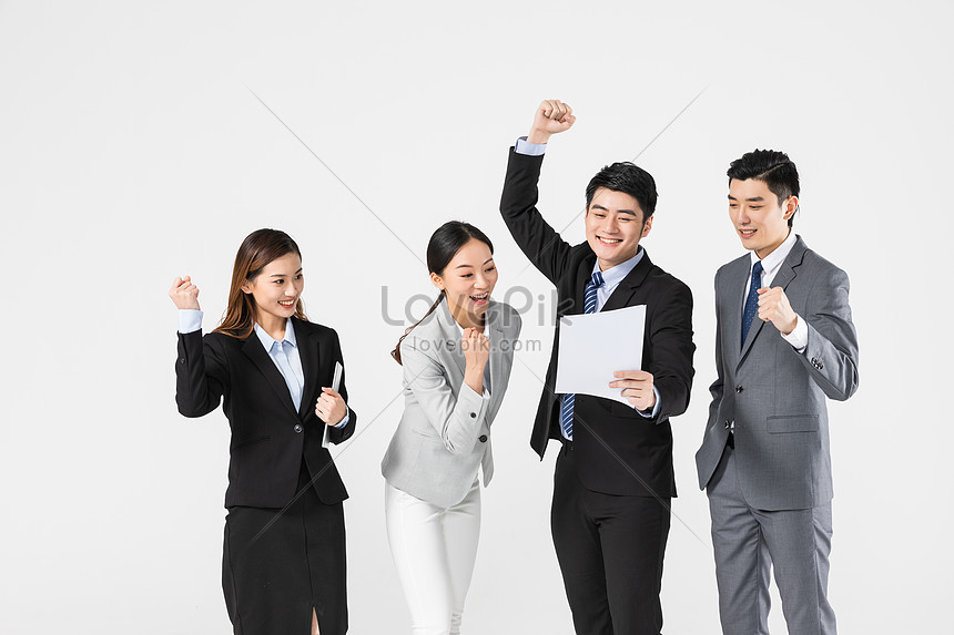success of the business team cooperation project