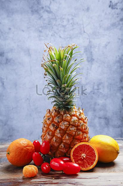 พื้นหลังผลไม้