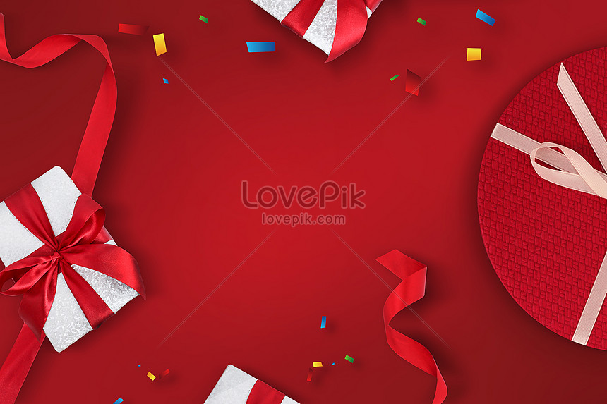 520 gift box background