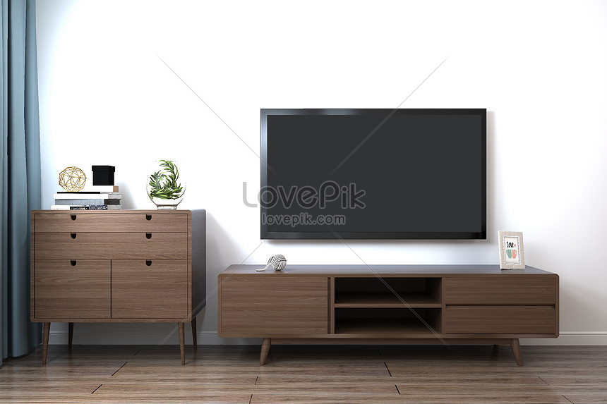 Modern Living Room Tv Background Creative Image Picture Free Download 500901604 Lovepik Com
