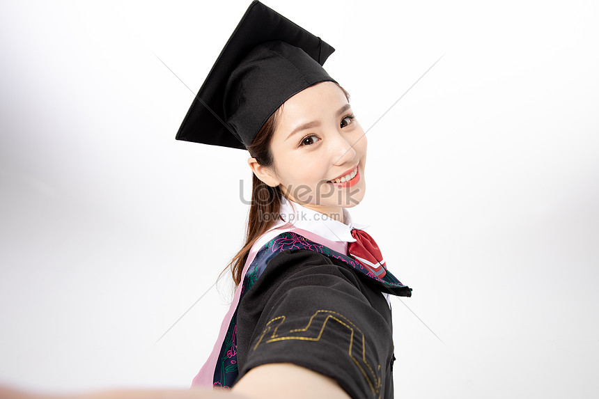 autoportret studentka collegeu