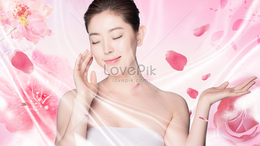 Fresh Beauty And Skin Care Background Creative Image Picture Free Download 500930476 Lovepik Com