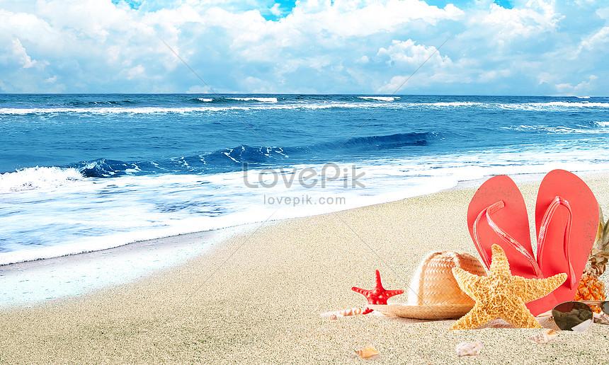 spiaggia estiva