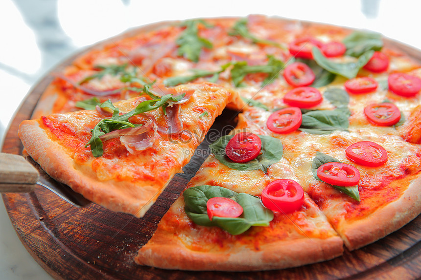 Menggoda Gambar Makanan Pizza Gambar Unduh Gratis Imej