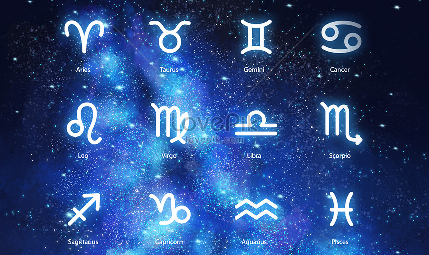 Constellation background map creative image_picture free