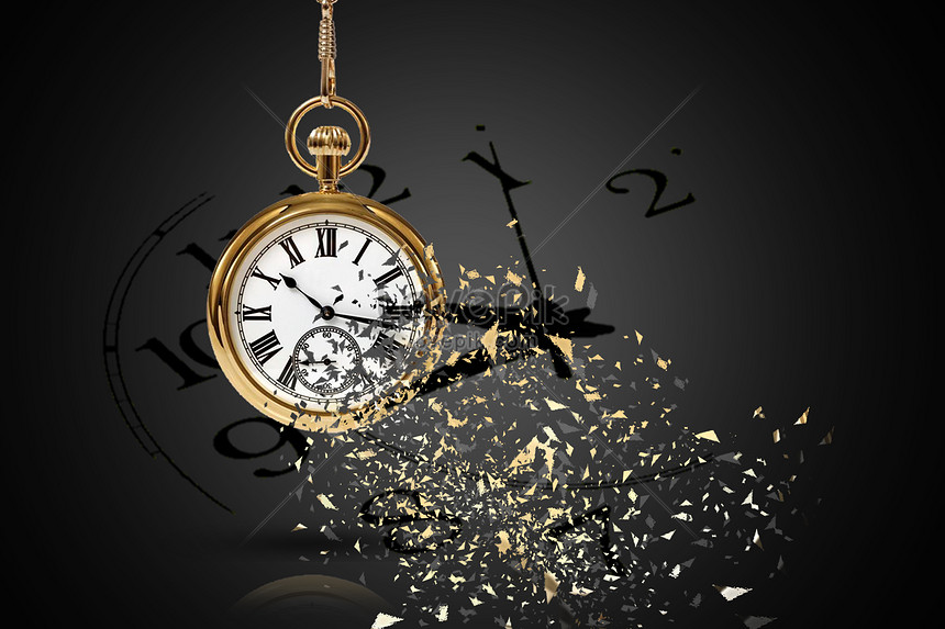 Time goes by to break clocks and watches creative image_picture free download 500933918_lovepik.com