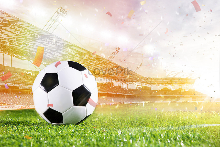 a close up of the football background