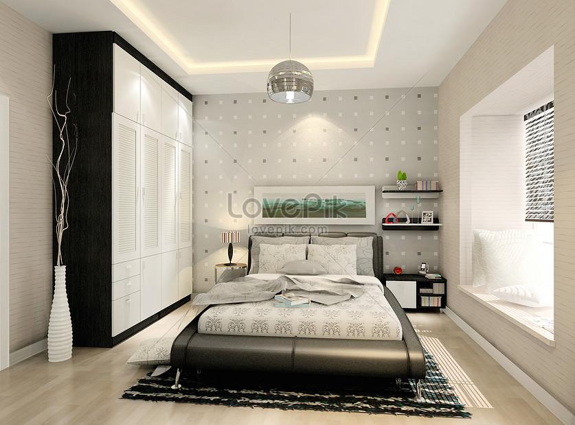 Modern Bedroom Decoration Creative