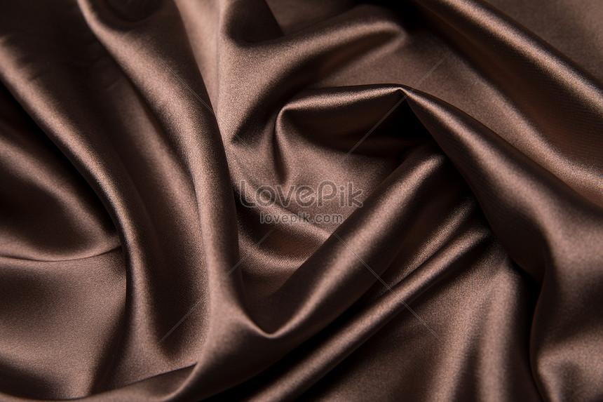 Коричневый шелк купить ткань на шторы в стиле прованс в москве