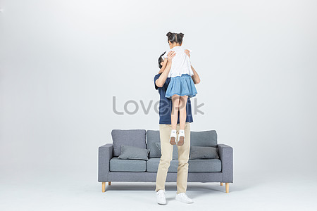 Affection For Father And Daughter Png Image Picture Free