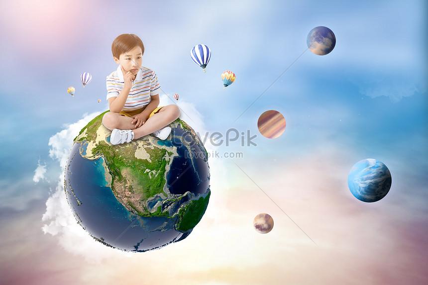 44 Gambar Anak Kecil Merenung HD Terbaik