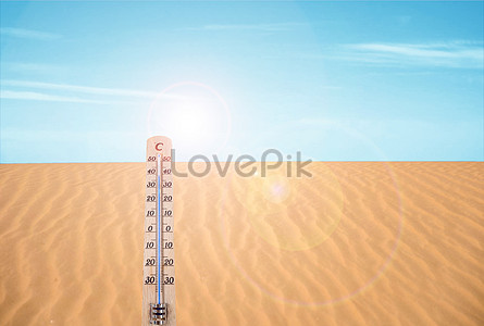 a hot summer day