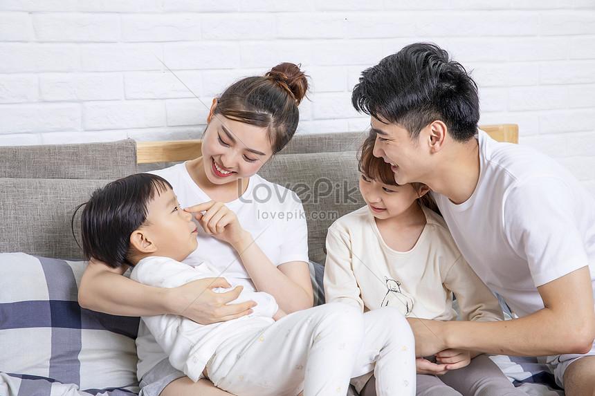 gelukkig gezin ouderschap