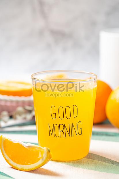 fresh fresh orange juice
