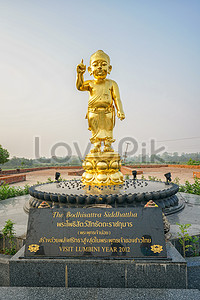 golden buddha and bodhi tree images_94011 golden buddha and