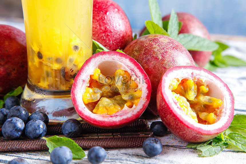 Passion fruit tea photo image_picture free download