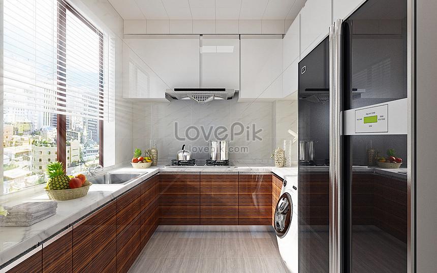 rendering di cucine moderne Immagine Gratis_Creativo numero ...