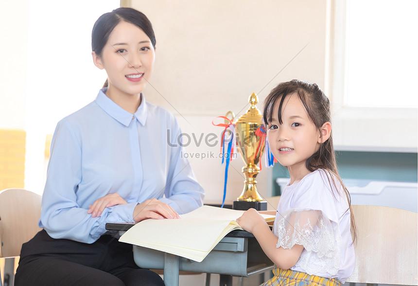 profesor de tutoría de escuela primaria Imagen Descargar_PRF
