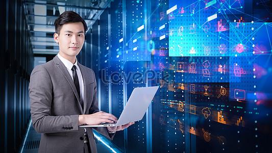 Technology Modernization For Business People Image