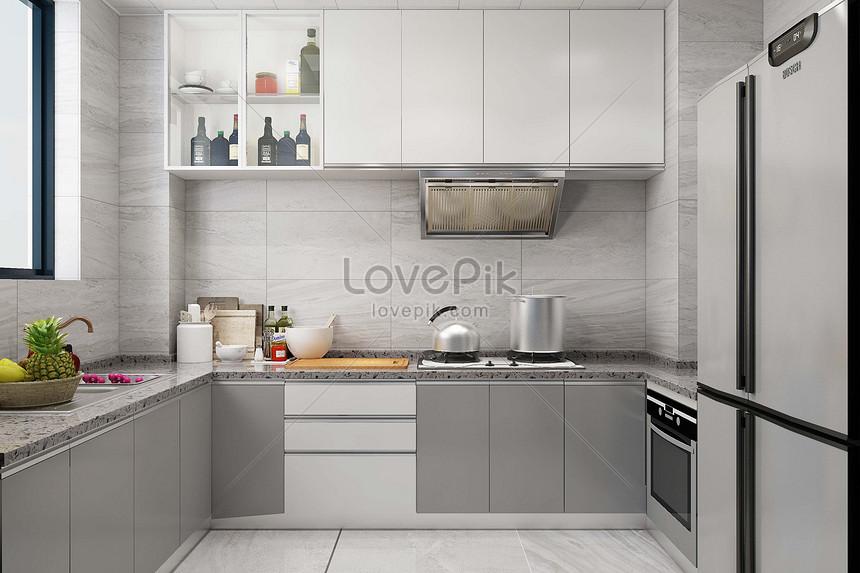 101+ Gambar Bentuk Dapur HD
