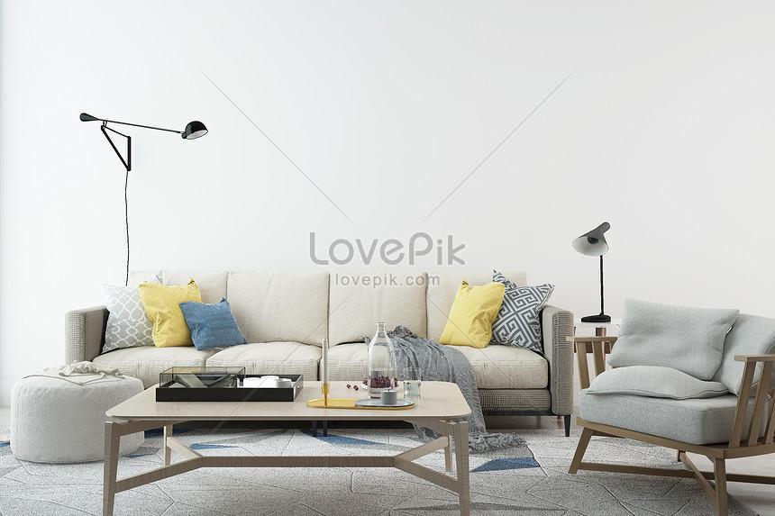 Photo de maison de salon simple_Numéro de l ...