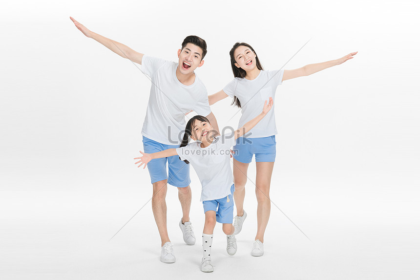 mutlu aile arkadaşlığı