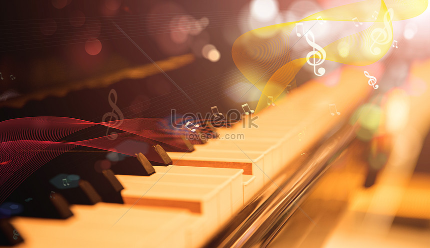 Piano music creative image_picture free download
